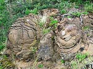Thuringian Highland - The Steinerne Rose, a diabase rock formation near Saalburg-Ebersdorf