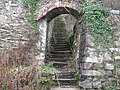 Steps leading to the top of the lime kilns - geograph.org.uk - 1095352.jpg