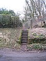 Steps to the footpath - geograph.org.uk - 1728639.jpg