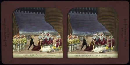Stereokort, Les Huguenots 12, Le massacre - SMV - S60b.tif