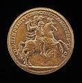 Steven van Herwijck, Sigismund II Augustus on Horseback (reverse), c. 1562, NGA 45437.jpg