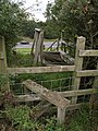 Stile and broken footbridge - geograph.org.uk - 544208.jpg