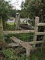 Stile and broken footbridge - geograph.org.uk - 544208.jpg