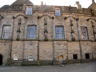 Renaissance in Scotland - The sculptural decoration of James V's place at Stirling Castle
