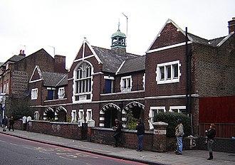 West Hackney - Image: Stoke newington west hackney almshouses 1