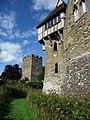 Stokesay Castle, the dry moat - geograph.org.uk - 1507329.jpg