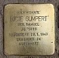 Stolperstein Bregenzer Str 7 (Wilmd) Lucie Gumpert.jpg