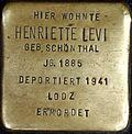 Stolperstein Köln, Henriette Levi (Breite Straße 65).jpg