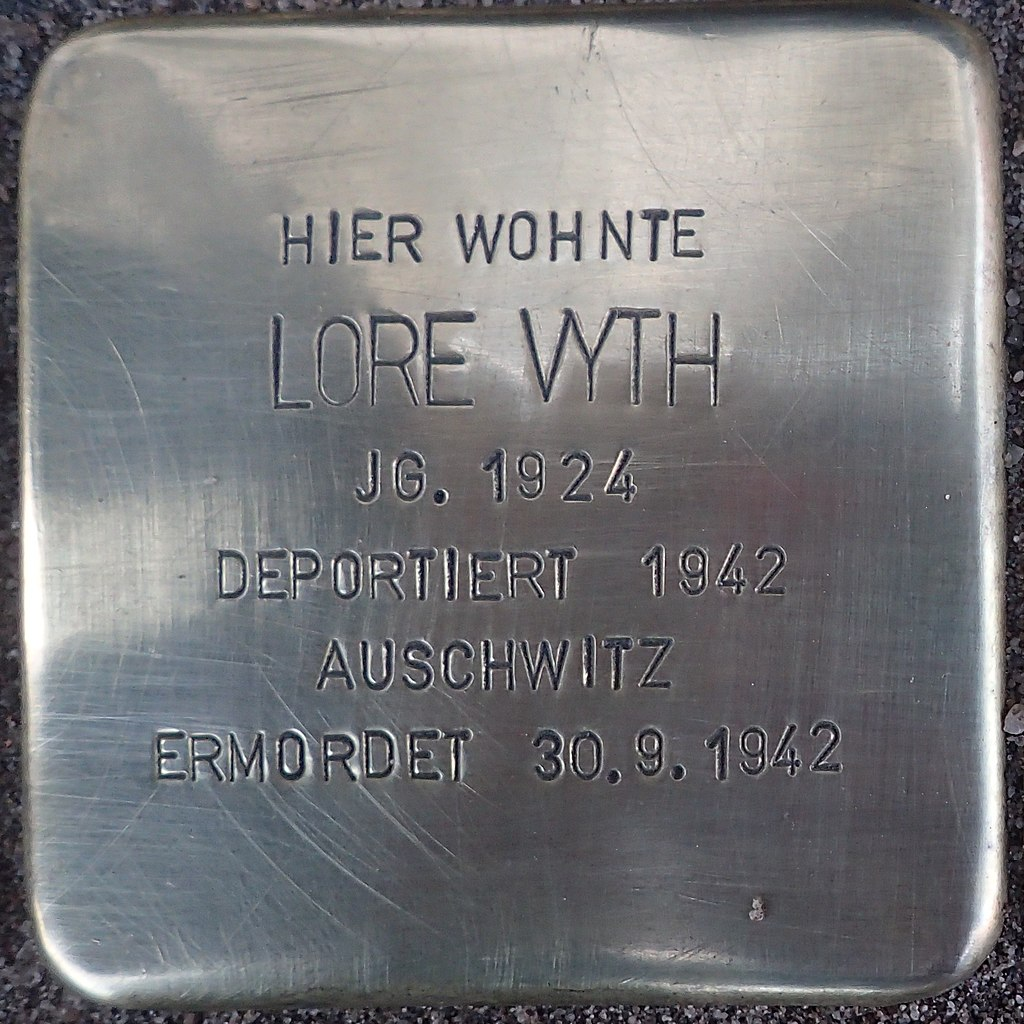 Stolperstein Kalkar Kesselstraße 19 Lore Vyth