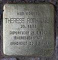 Stolperstein Konstanzer Str 11 (Wilmd) Therese Rothauser.jpg