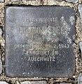 Stolperstein Kufsteiner Str 57 (Schön) Bruno Wedel.jpg