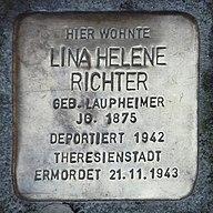 Stolperstein LB Lina Helene Richter.jpg