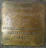 Stolperstein Munich Klara Strauss.jpg