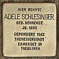 Stolperstein für Adele Schlesinger (Cottbus).jpg