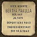Stolperstein für Bertha Pakulla (Cottbus).jpg