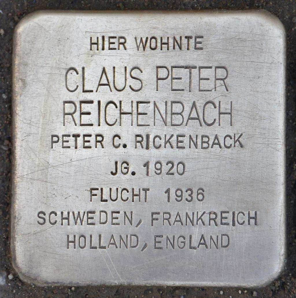 Stolperstein für Claus Peter Reichenbach.jpg