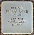 Stolperstein für Farago Andor.jpg