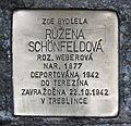 Stolperstein für Ruzena Schönfeldova.JPG