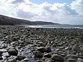 Stony beach and outflow of Allt Grisionn, below Aultgrishan - geograph.org.uk - 151216.jpg