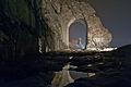 Strada romana delle Gallie e il suo Arco notturno.jpg