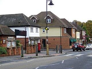 Churt Village in Surrey, England