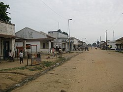 A street in Kindu