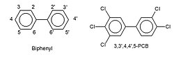 Structures of biphenyl and 3,3',4,4',5-pentachlorobiphenyl.jpg