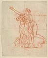 Study for the Wife and Daughters of Brutus (recto); Study of a Male Nude (verso) MET DP818902.jpg