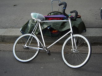 Artistic cycling - Specialised stunt bicycle