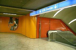 Bochum Hauptbahnhof - Entrance to U35 to Herne
