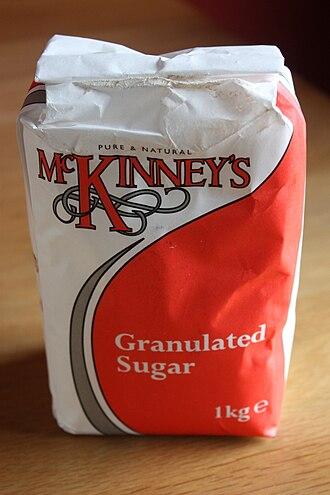 Paper bag - Bag of sugar