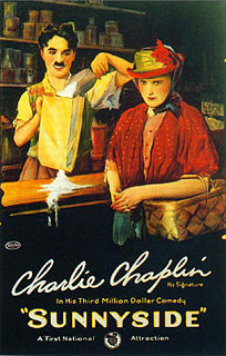 <i>Sunnyside</i> (film) 1919 short silent film by Charlie Chaplin