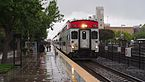 Sunnyvale Caltrain Station on a rainy day.jpg