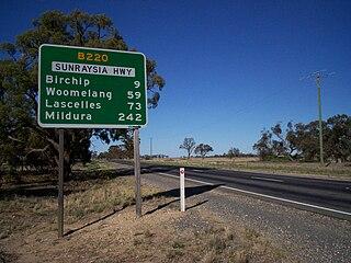 Sunraysia Highway highway in Victoria