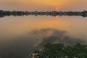 Saroornagar Lake - Sunset