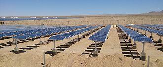 Solar tracker - 4MW horizontal single axis tracker in Vellakoil, Tamil Nadu, India