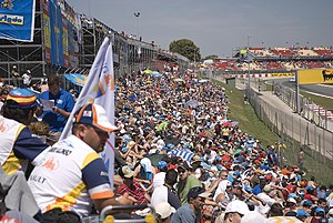 2008 Spanish Grand Prix - Fernando Alonso supporters at the Grand Prix