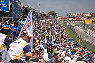2008 Spanish Grand Prix - Fernando Alonso supporters at the Grand Prix