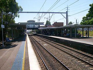 Sutherland railway station Railway station in Sydney, New South Wales, Australia