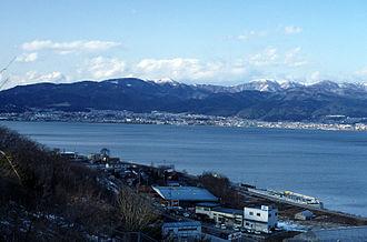 Lake Suwa - Image: Suwako
