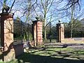 Swakeleys House gates April 2011.JPG