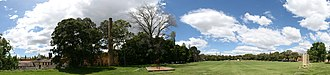 St Paul's College, University of Sydney - Image: Sydney University St Pauls College Oval