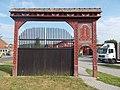 Székely gate by Hamar & Son (1996), 2017 Pomáz.jpg
