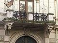 Szeged Tóth Péter-ház (Roosevelt tér 6.) homlokzat részlete 2013-09-11 (2).JPG