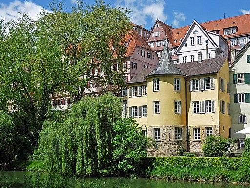 Hölderlinturm in Tübingen. Kandidat für das Welterbe in Baden-Württemberg