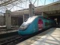 TGV Dasye Ouigo — gare de l'Aéroport Charles de Gaulle 2 TGV.jpg