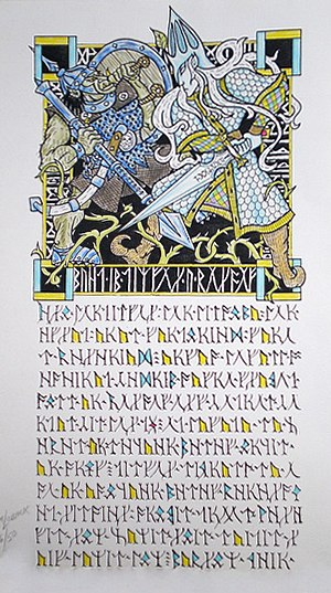 Middle-earth Orc characters - Boldog and Thingol