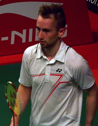 Sam Magee - Image: TOTAL BWF World Champs 2015 Day 2 Sam Magee