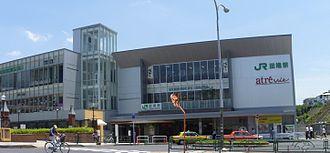 Tabata Station (Tokyo) - The north entrance in June 2010 after rebuilding