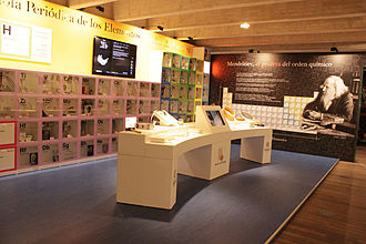 Valladolid Science Museum - The periodic table